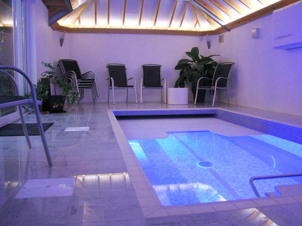 Residential Exercise Pool at the Glade