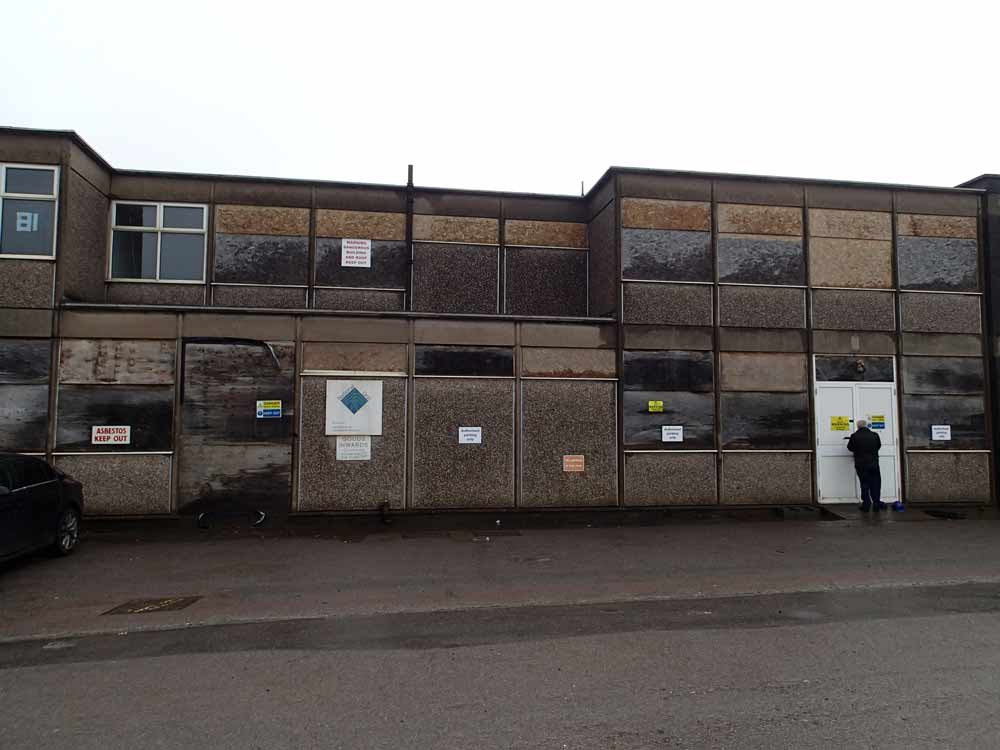 Investigations and redevelopment of existing office building