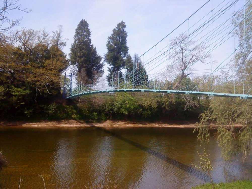 Netherby Suspension Bridge