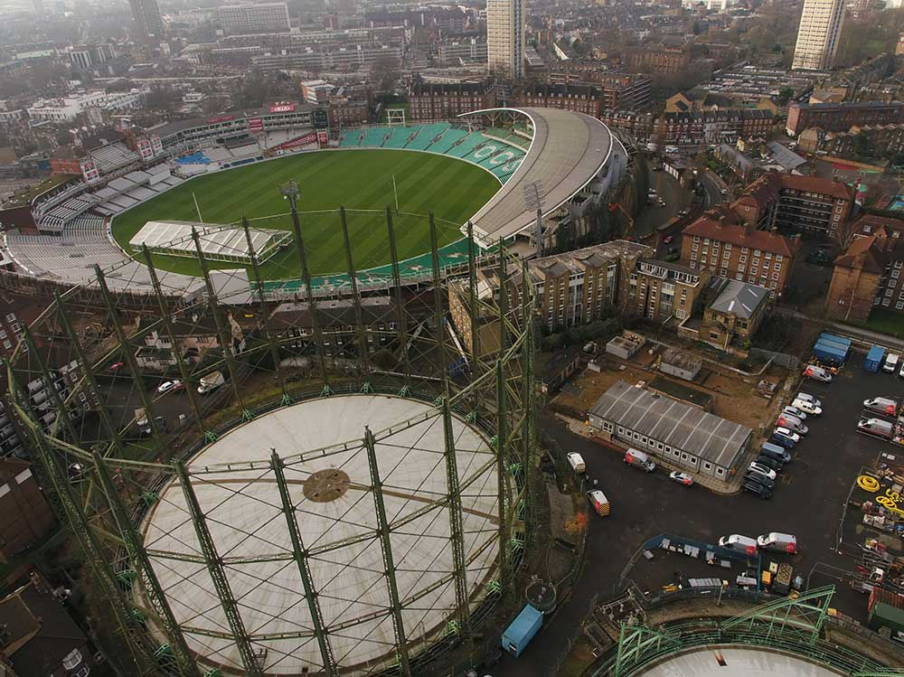 Kennington Oval Gasholder No 1