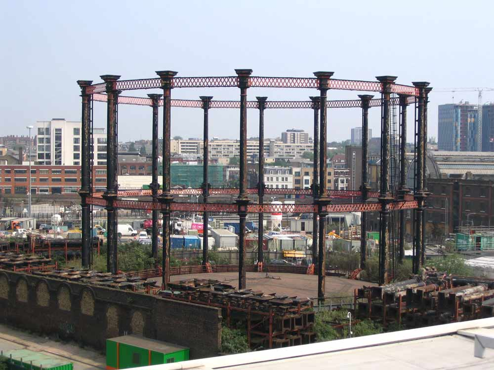 Kings Cross Gasholder no 8